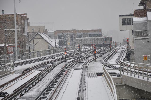 Chicago Snowy El
