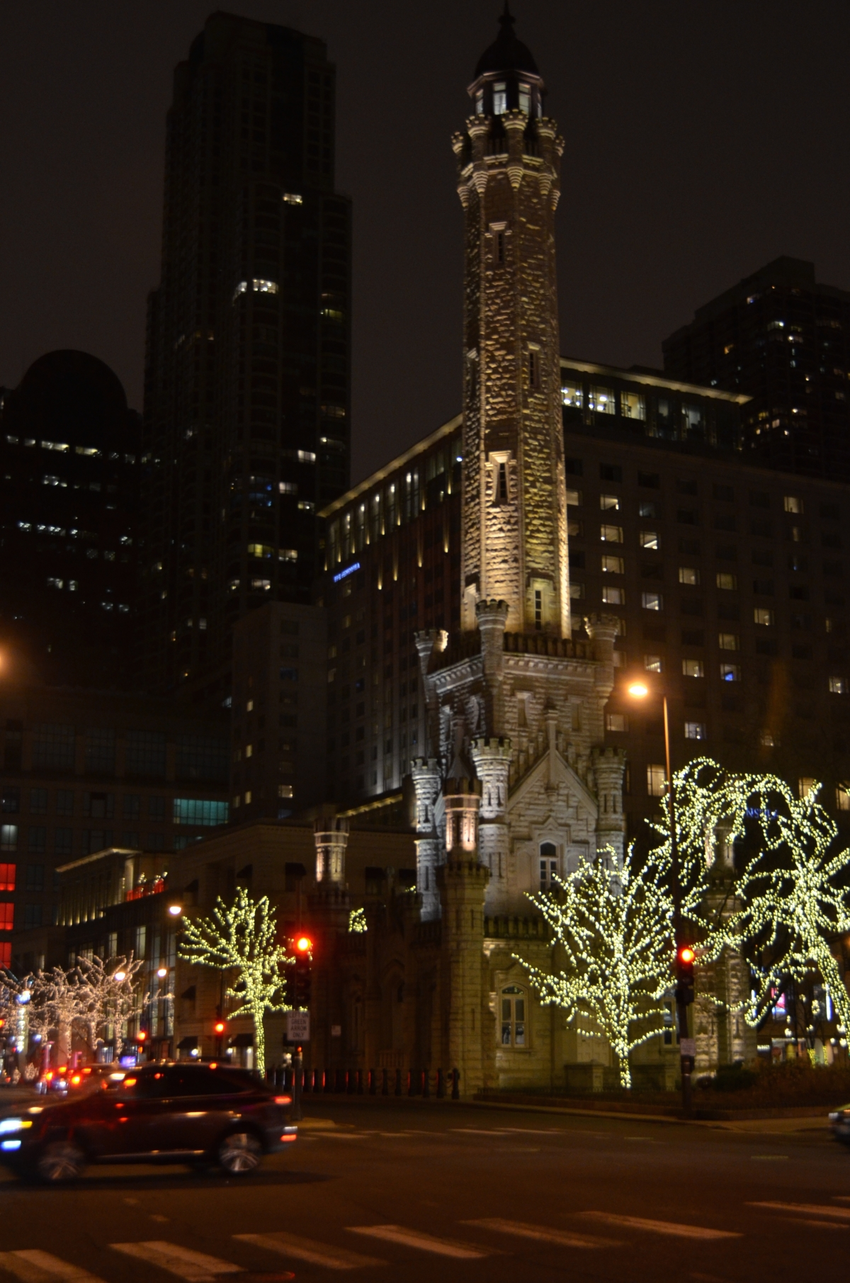 Chicago's famed Water Tower